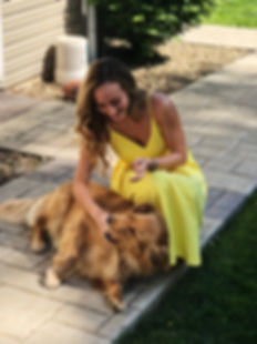 golden retriever newfoundland puppy kristin karam communcation professional social media manager butler pa pittsburgh area