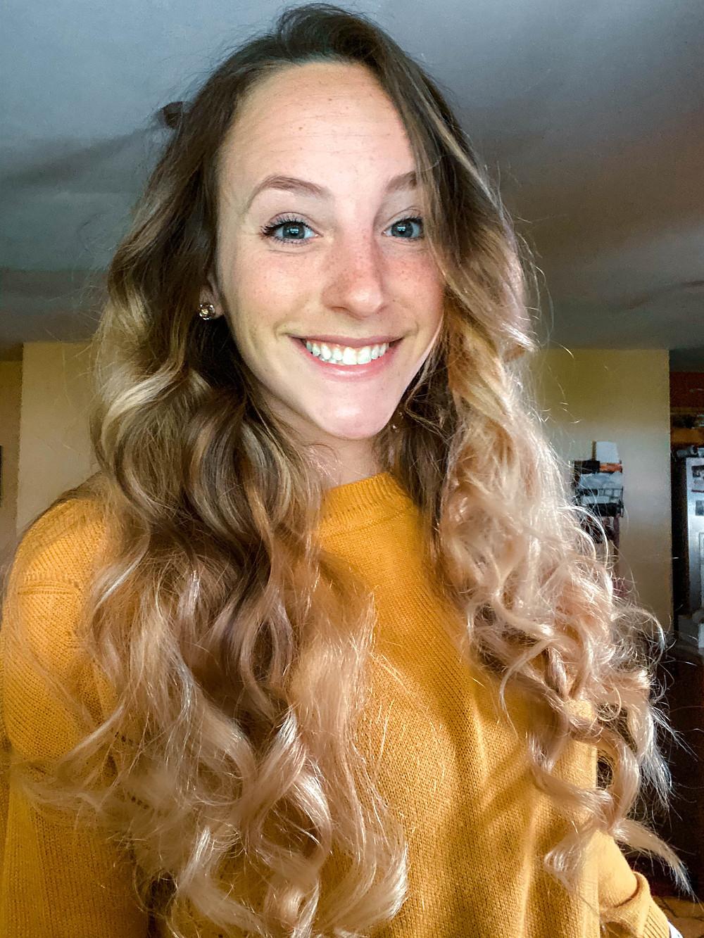 oribe hair care texture spray kristin karam long hair