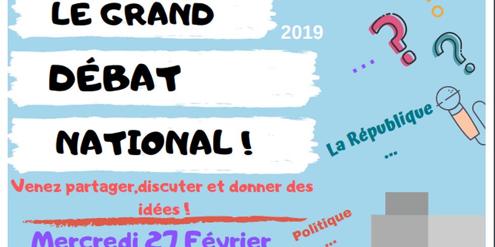 Le grand débat national s'installe à Amiens Sud-Est !