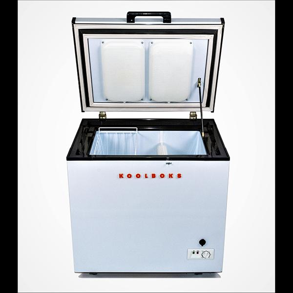 Koolboks' Paygo-enabled solar freezer with PaygOps