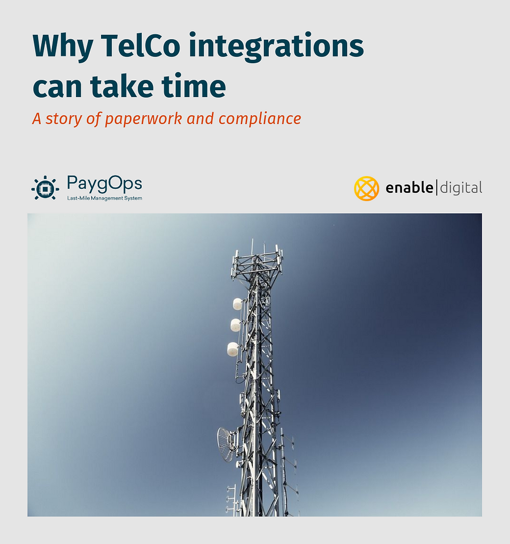 Why TelcO and SMS Integration can take time