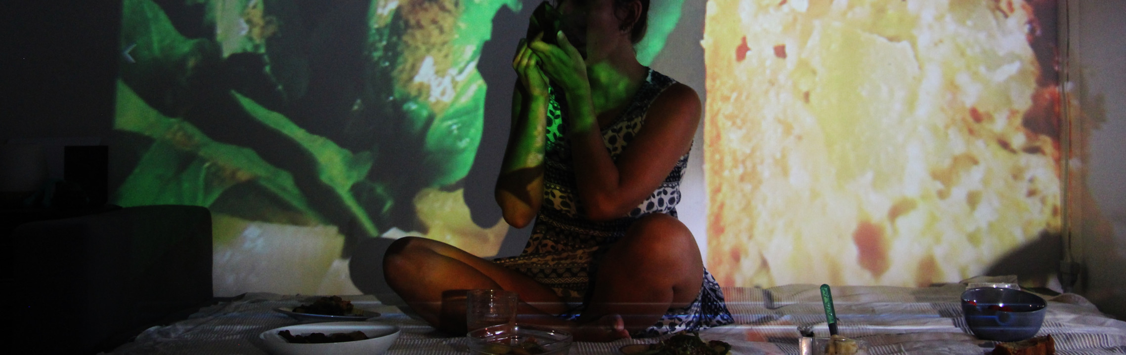 """Gavée"", performance, 2020"