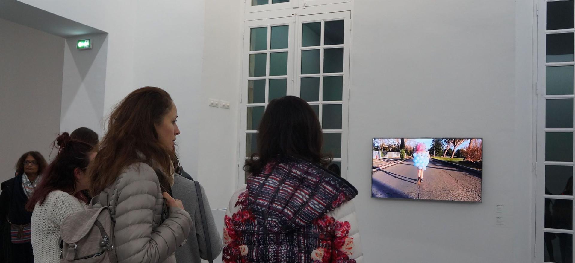 OutsideParty, déambulation/vidéo, 2014