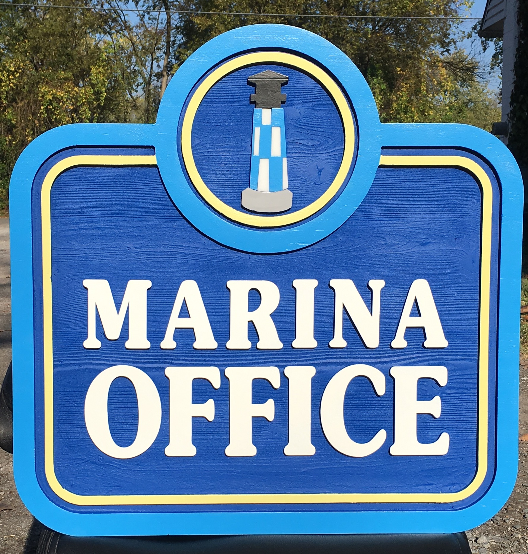 Marina Office Sign