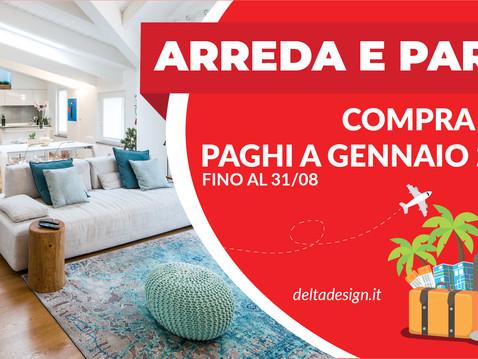 ARREDA E PARTI CON DELTA DESIGN!