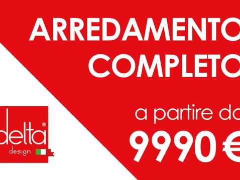 ARREDAMENTO TUTTO INCLUSO > 100 % TUO A SOLI 9990 EURO