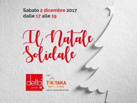 Il Natale Solidale di Delta Design  con TikiTaka