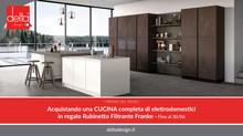 Rubinetto filtrante Franke in regalo con una cucina Delta Design!