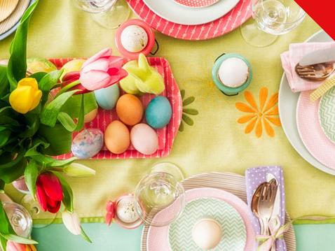 Un pranzo di Pasqua con i fiocchi: appuntamento il 6 aprile nel nostro Delta Lab
