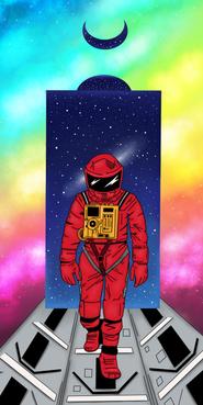 001 - Francesca Adani - 'The astronaut'.