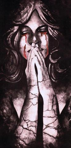 003 - Rhianna Catt - 'Final Dracula Photopolymer'.