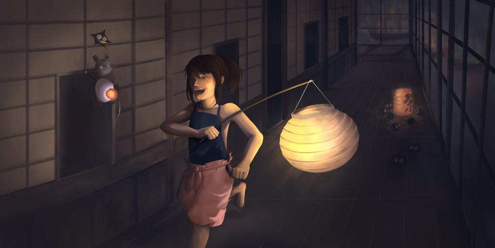 004 - Audrey Chan - 'Into the Night'.