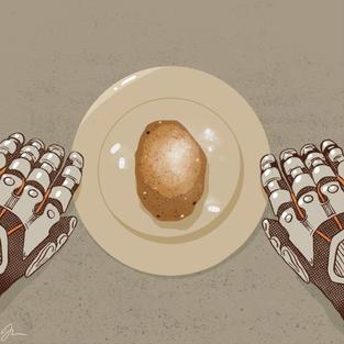 005 - JoannaZdunik - 'Martian Potato'