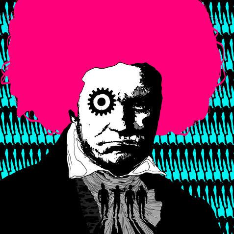 001 - Jonathan J Luboya - 'Beethoven is Watching'.