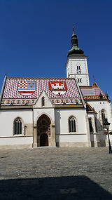 Church St. Marco, Zagreb, Croatia
