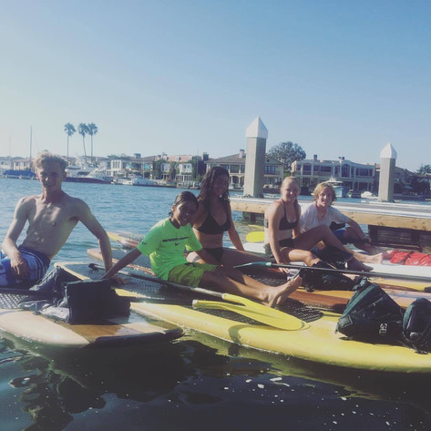 Newport Paddleboarding Activity