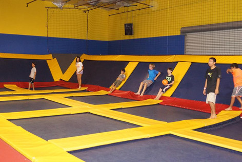 Trampoline Team Bonding Event