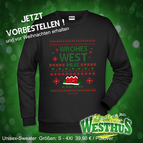 "My ugly Christmaspulli ""Wrohes West"""