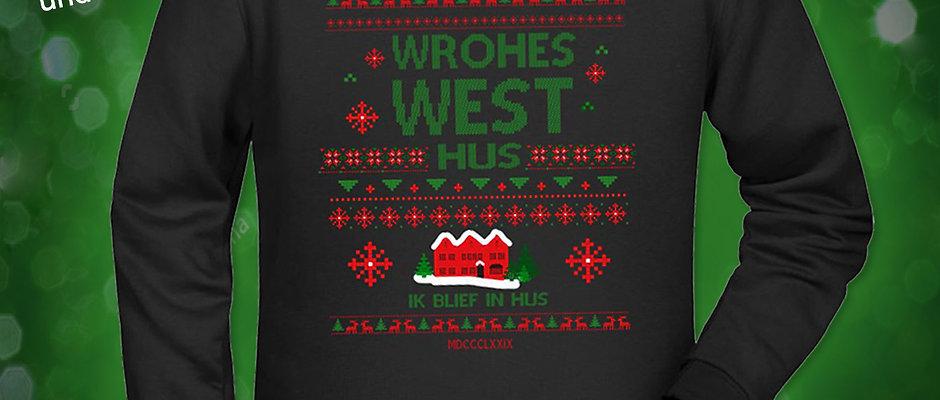 "My ugly Christmaspulli ""Wrohes West"""