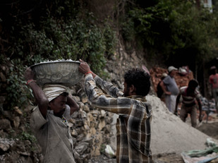 Street Photography Nepali workers in Kathmandu
