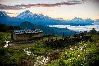 Landscape Photography of Himalayan Mountains from Jaljala Pass, Nepal
