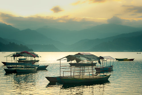 Pokhara Sunset One