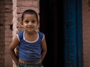 street photography little Nepali boy in Kathmandu