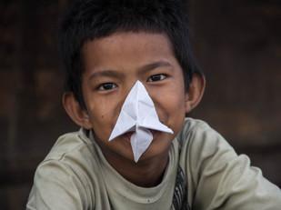 street photography portrait of Nepali boy in Kathmandu