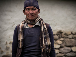 travel photography portrait of Nepali man in Dhorpatan Hunting Reserve