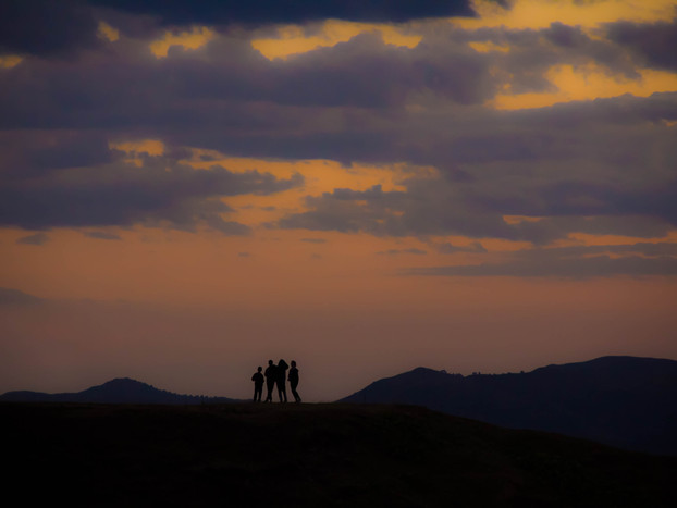 Landscape Photography friends on the Caucasus Mountain range