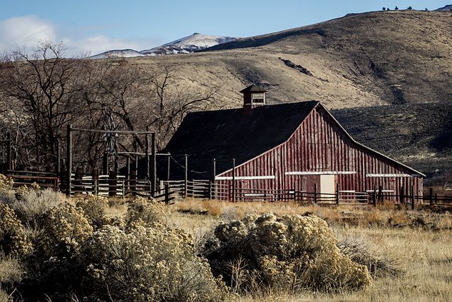 Landscape Photography of Montana Farm and Ranch