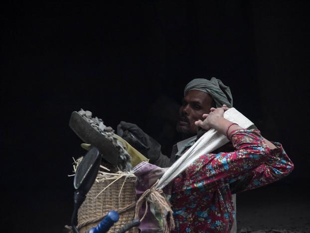 Street Photography of Nepali workers in Kathmandu