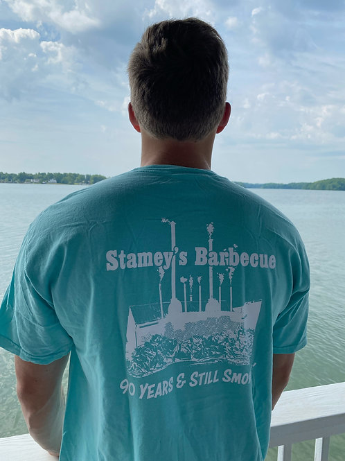 Chalky Mint Stamey's Smokehouse T-Shirt