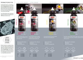 SONAX PROFILINE: polishes  performance polishing system