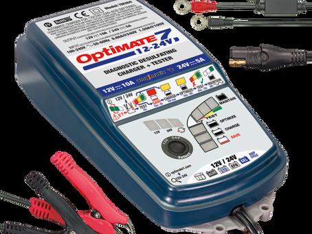 Optimate batterijladers - de krachtpatsers!