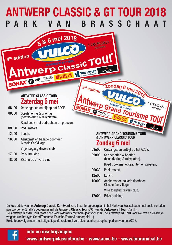 Affiche Antwerp Classic Event 2018