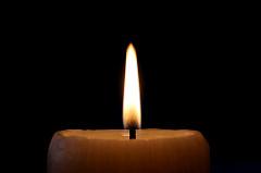 La vela que se consumió