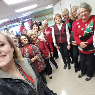 Caroling at assisted living facilities 1