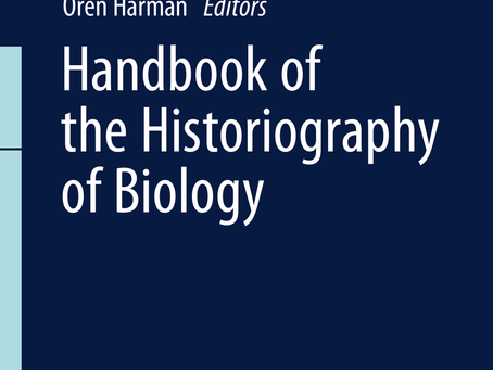 The Handbook of the Historiography of Biology