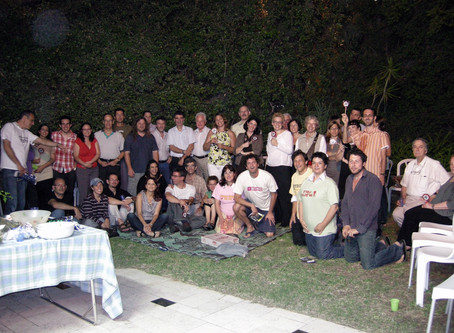 End-of-year party, 2009