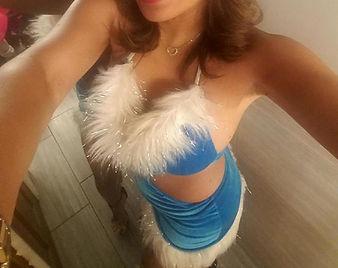 dancer selfie