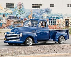 1 Low & Slow Blue Truck 11x14 framed to 16x20.jpg