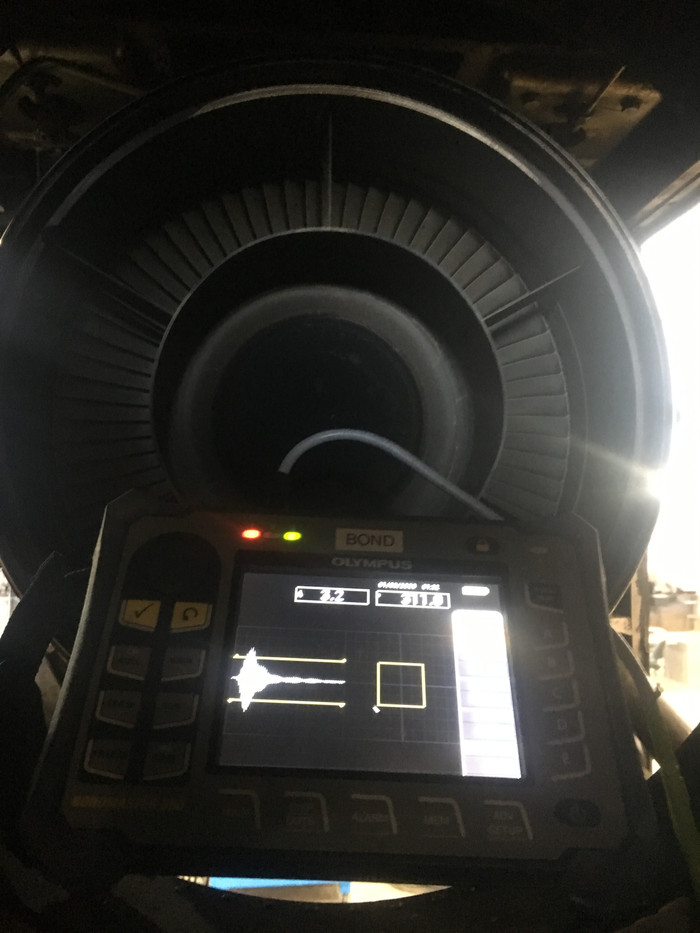 DHC-8 Bond Test