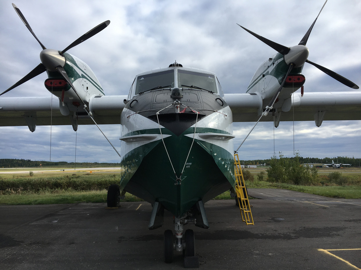 CL-215T Fire Suppression Aircraft
