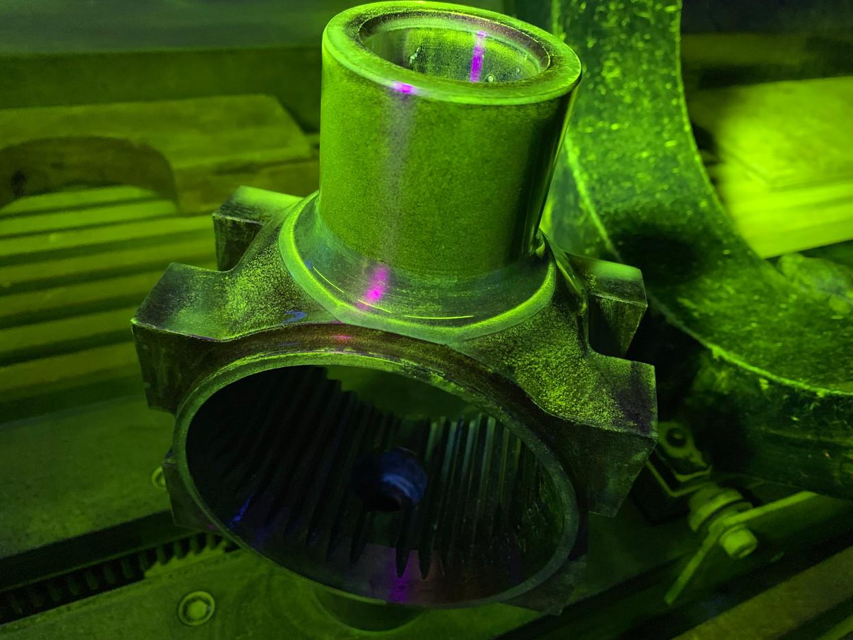 Rotor Hub Overhaul