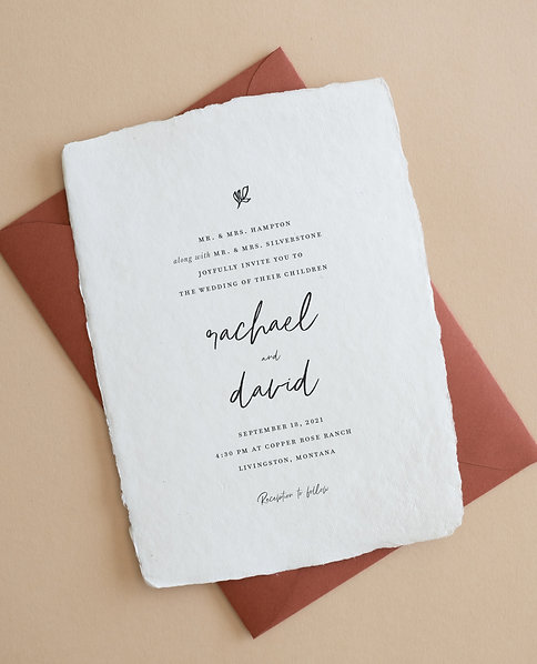 Rachael Invitation