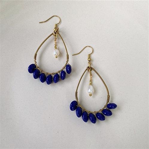 Indigo Courage Earrings