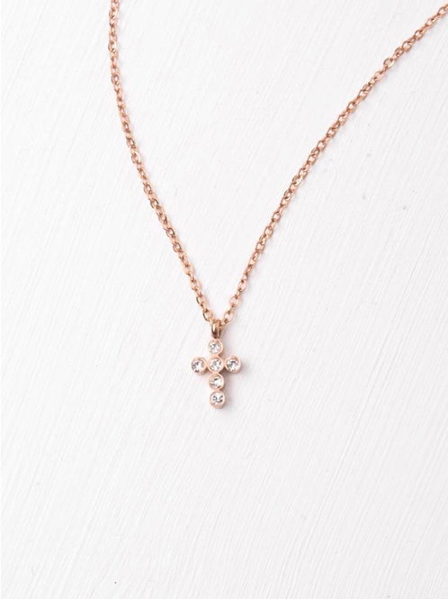 Grace Rose Gold pendant necklace