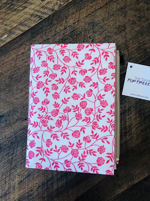 Journal Pink Flower
