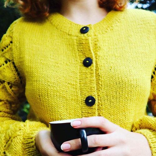New Zealand wool cardigan
